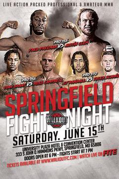 Walkout FC 17: Springfield Fight Night