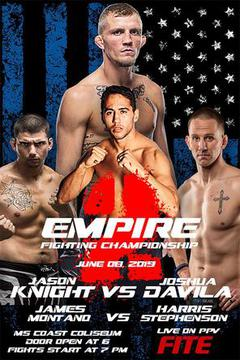 Empire Fighting Championship: Jason Knight vs Josh Davila