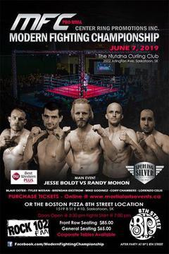 Modern Fighting Championship: Boldt vs Mohon