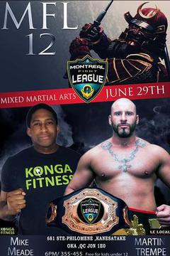 Montreal Fight League 12: Mike Meade  vs  Martin Trempe