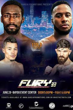 Fury Fighting Championships 33: Anthony Ivy vs Jason Langellier