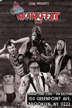 Capitol Wrestling At Skankfest NYC