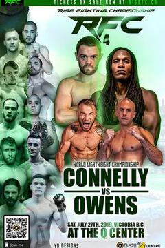 Rise Fighting Championships 4: Connelly vs Owens