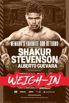 Weigh In: Shakur Stevenson vs Alberto Guevara