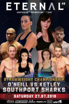 Eternal MMA 46: Casey O'Neill vs Jada Ketley