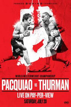 Manny Pacquiao vs Keith Thurman