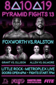 Pyramid Fights 13: Chauncey Foxworth vs Ricco Ralston
