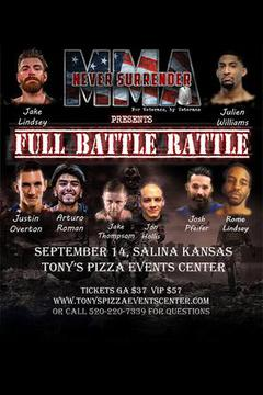 Never Surrender MMA: Full Battle Rattle