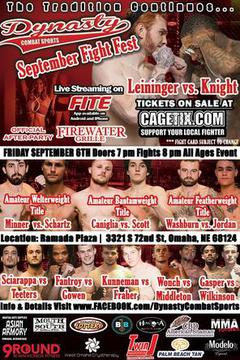 Dynasty Combat Sports: September Fight Fest