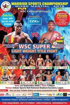 WSC 4: Nigeria vs Benin Republic