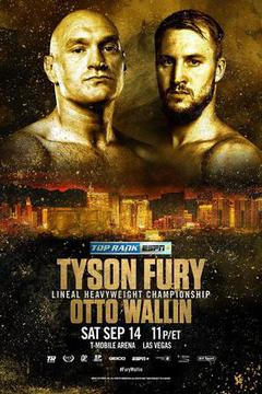 Top Rank: Tyson Fury vs Otto Wallin