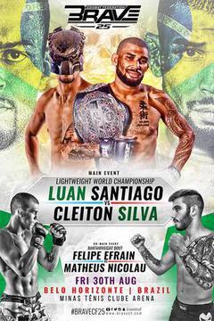 Brave 25: Luan Santiago vs Cleiton Silva