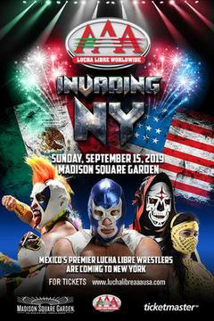 Lucha Libre AAA: Invading New York