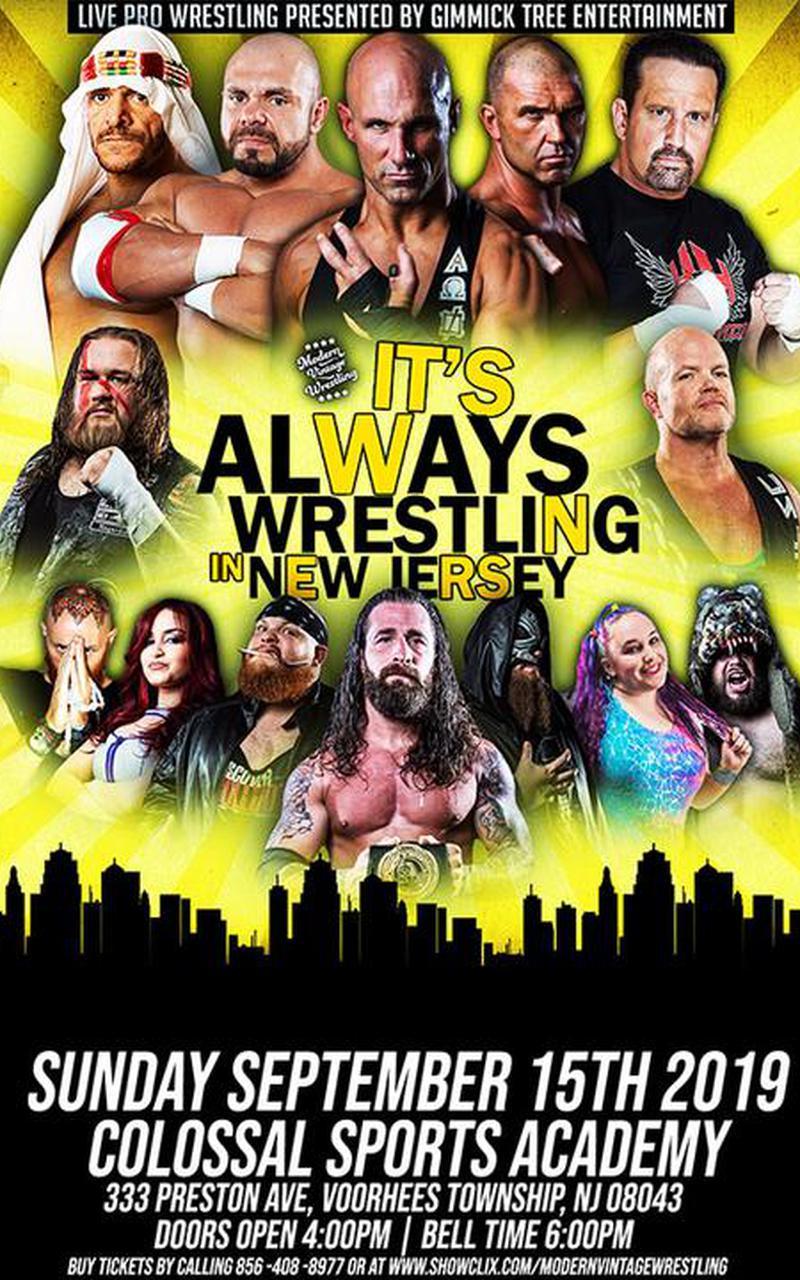 Live Pro Wrestling: It's always wrestling in New Jersey