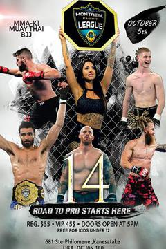 Montreal Fight League 14