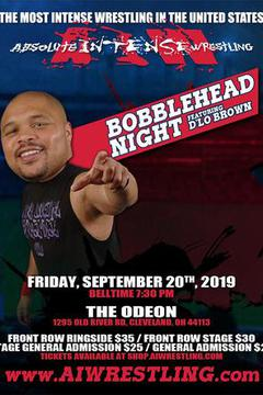 Absolute Intense Wrestling: Bobblehead Night