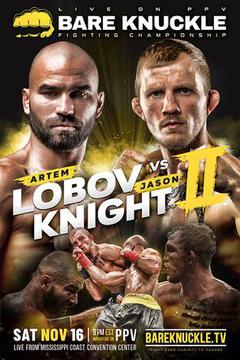 Bare Knuckle Fighting Championship 9: Artem Lobov vs Jason Knight II