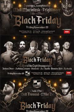 Synergy Pro Wrestling: Black Friday