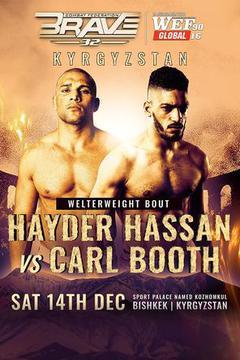 Brave 32: Hayder Hassan vs Carl Booth