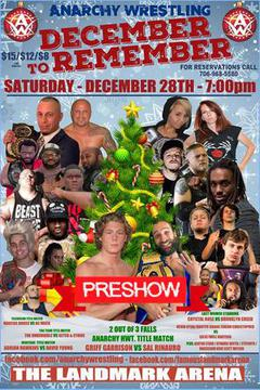 Anarchy Wrestling: December to Remember Pre Show