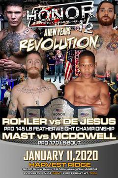 Honor Fighting Championship 12: Mast vs McDowell
