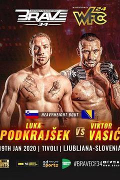 Brave 34: Luka Podkrajsek vs Viktor Vasic