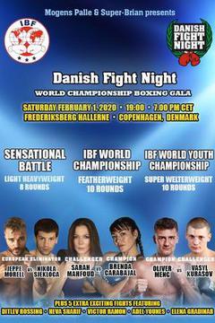 Danish Fight Night: World Championship Boxing Gala