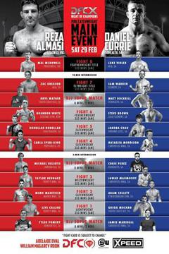 Diamondback Fighting Championship 10: Currie vs Almasi