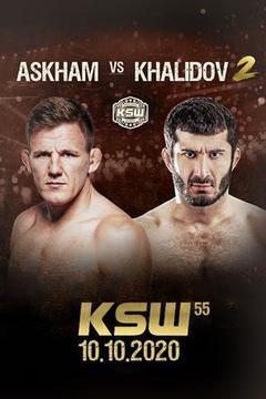KSW 55: Scott Askham vs Mamed Khalidov 2