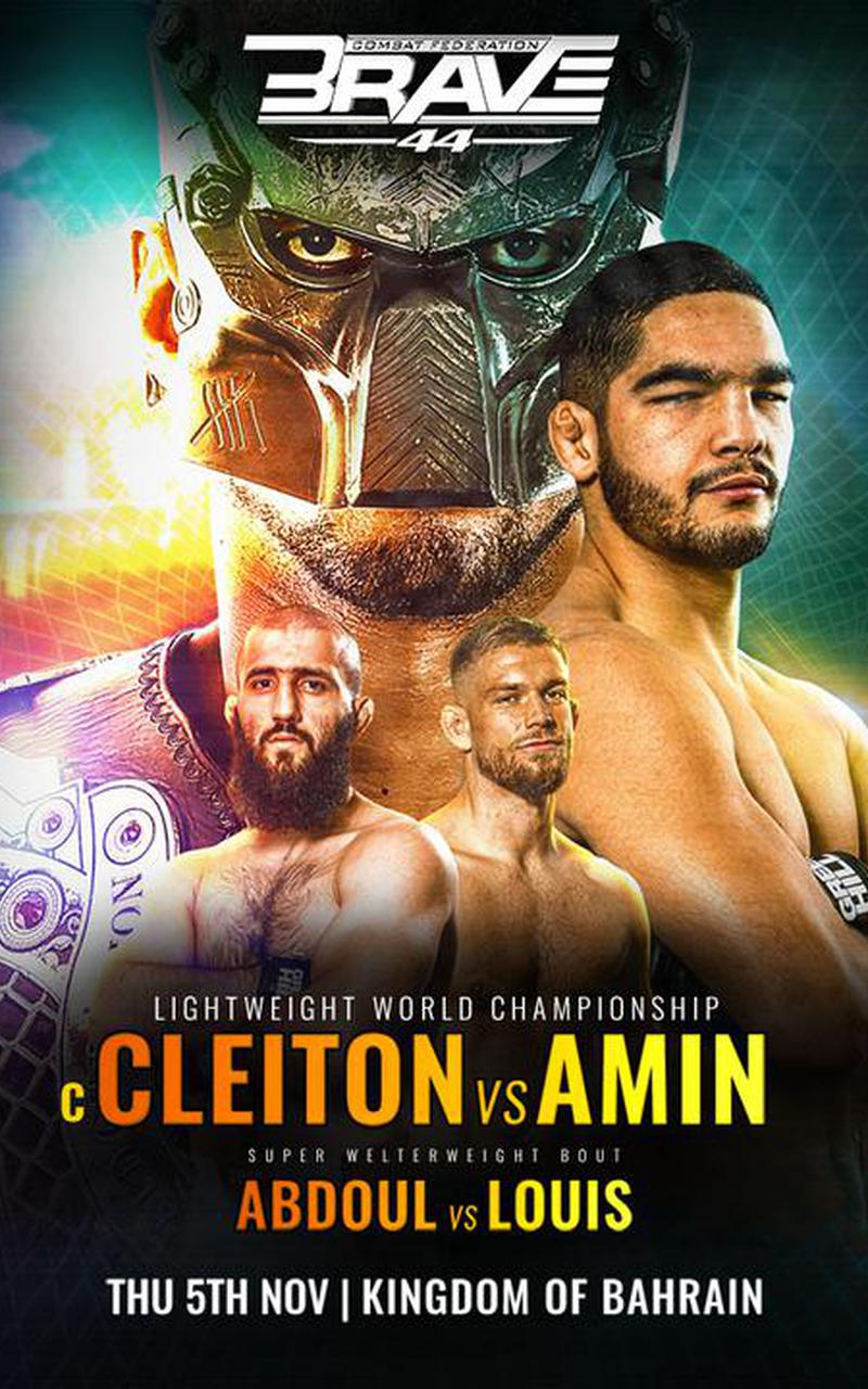 ▷ Brave 44: Cleiton Silva vs Amin Ayoub - Official PPV Live Stream - FITE