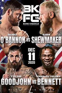 BKFC 15: Mark Godbeer vs Sam Shewmaker