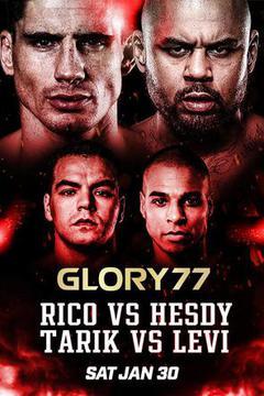 Glory 77: Rico Verhoeven vs Jamal Ben Saddik