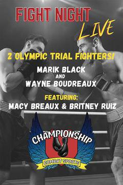 Championship Combat Sports: Fight Night, May 22nd