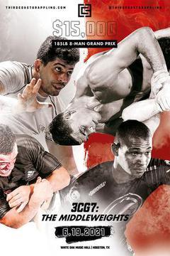 Third Coast Grappling 7: 8 Man Tournament Middleweights