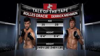 WSOF 05: Derrick Mehmen vs. Rolles Gracie Jr.