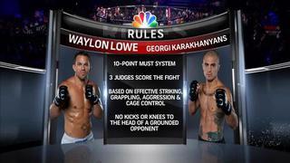 WSOF 05: Georgi Karakhanyan vs. Waylon Lowe