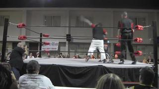 FLW Rise from the Ashes: Macen Mayhem vs Eric Walker for the Outlaw Title (6-27-15)