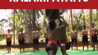 The Indian martial art -Kalaripayattu