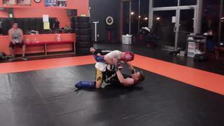 09-09-13 :: LIVE Sparring & Grappling :: Cole McKinney & Paddy McFall (pt.2)