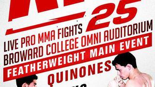 Absolute Fighting Championship (AFC) 25: QUINONES VS. QUARANTILLO