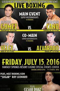 Boxeo Estelar - Cano vs. Gomez
