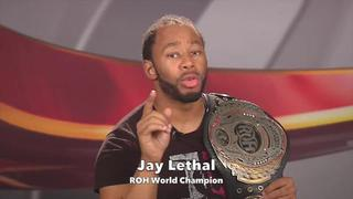 Watch ROH on FITE TV with Jay Lethal