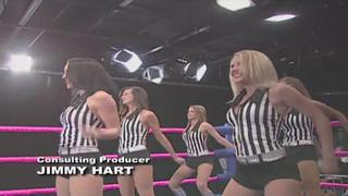 6-Girl Tag Team Action