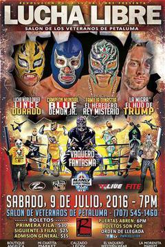 Pro Wrestling Revolution - Lucha Libre  - July 2016