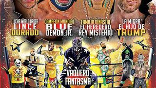 Pro Wrestling Revolution - Lucha Libre  - July 2016
