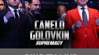 "Canelo Alvarez vs. Gennady ""GGG"" Golovkin: Ring TV Live, Sept.12"