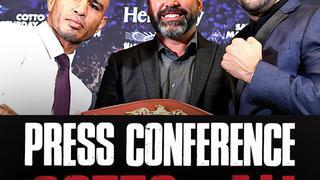 Miguel COTTO vs. Sadam ALI Caguas: Press Conference