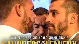 Billy JOE SAUNDERS vs. David LEMIEUX: Weigh-In