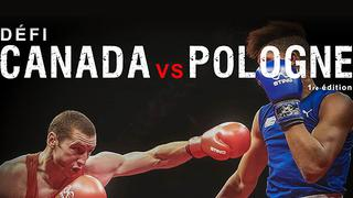 Canada vs Poland Olympic-style Boxing