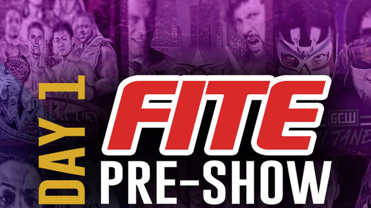 ▷ FITE Pre-Show Day 1: Wrestlemania Weekend Official Free Replay - FITE